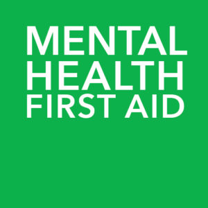 Mental Health First Aid Online training course