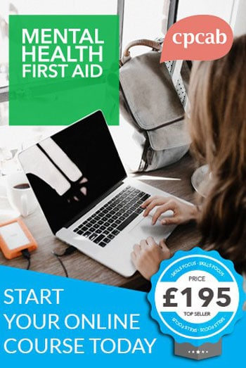 Mental Health First Aid Course Online and Tutor led