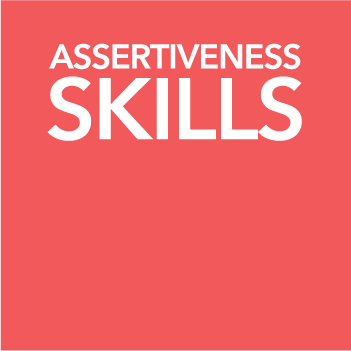 mental health assertiveness red image