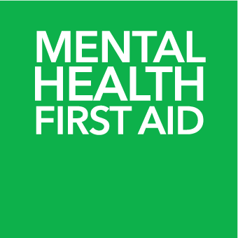 mental health first aid green image